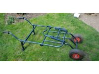 Large Carp Fishing trolley