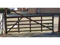 5 Bar Farm Style Gate.