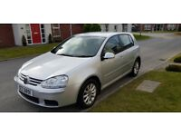 2007 VOLKSWAGEN GOLF 1.6 MATCH FSI, ALLOYS, E/W, EXCELLENT HISTORY, 6 SPEED (Not Ford or Vauxhall)