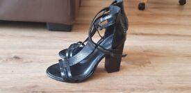 NEXT black heels Size 6. New.