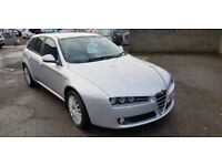 Alfa Romeo 159 Sportwagon 2.2 JTS Turismo 5drFinance Available / Year MOT !