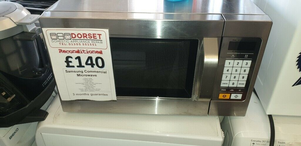 Samsung Commercial Microwave 1100w - Used - excellent condition stainless  steel kitchen oven | in Weymouth, Dorset | Gumtree