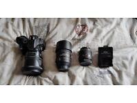 Nikon D5200 Digital SLR camera.