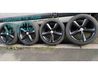 """17""""18""""19"""" Alloy wheels 5x100 5x114,3"""