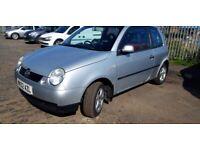 Volkswagen, LUPO, Hatchback, 2002, Manual, 999 (cc), 3 doors