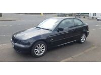 **SPARES OR REPAIR** BMW 316Ti Compact**AUTO**Start and drives**Has mot**READ ADVERT
