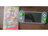 Nintendo Switch Lite (Grey) + Super Mario Odyssey