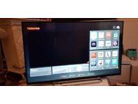 TOSHIBA 43U6763 43INCH 4K TV,SUPER Smart HD TV,built in Wifi,Freeview HD, NETFLIX. 2017 Model