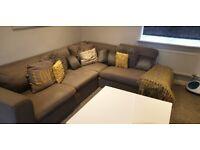Grey Corner Sofa from John Lewis