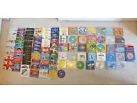 Kids CD's and DVD'd 100+ Huge Collection