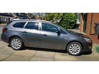Vauxhall astra estate 1.6 Low mileage and long MOT grey