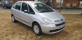 CITREON XSARA PICCASO 1.6 + LOW MILES 65K + ANY OLD CAR PX WELCOME + NON RUNNER DAMAGED SCRAP ETC