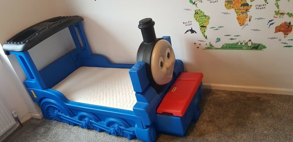 Thomas The Tank Engine Toddler Bed With Mattress In Coventry West