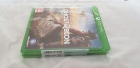 ghost recon xbox one 2 unopened and undamaged