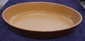 Classic Renault Berry 5 Oval Ceramic Dish
