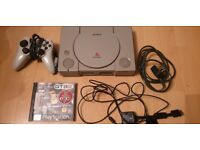 Sony Playstation 1 Classic Console plus GTA 2
