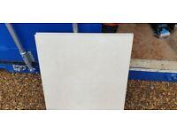 12 boxes, (12.96 Sqm), of 600 x 600 Porcelain Sintesis - Marfil Floor Tiles.