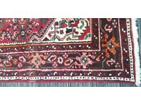 Vintage Wool Pre-Owned Rugs Persian Hamadan 158 x 225