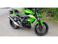 Kawasaki z250sl, 2016, 9000 Miles, Mint condition