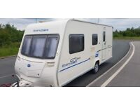 5 BERTH BAILEY GT60 500/5 SERIES 6. FIRST REGISTERED 15/04/2010 FAMILY CARAVAN. FULL AWNING.