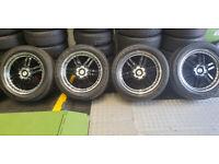 Jeep Dodge Chrysler LENSO 20 alloy wheels + 4 x tyres 255 50 20 Goodyear