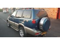 NISSAN TERRANO 4X4 2.7 DIESEL 7 SEATER ( ANY OLD CAR PX WELCOME )