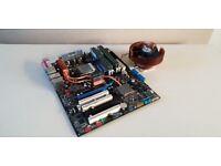 Asus A8N32-SLI AMD Opteron 185 4gb ocz 3200 platinum bundle