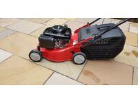 Petrol lawn mower, steel deck little used