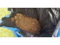 15 bags of garden soil - free to collector