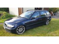 BMW, 3 SERIES, Estate, 2003, Manual, 1995 (cc), 5 doors