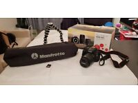 EOS 100D Camera with Get Close Kit - Black