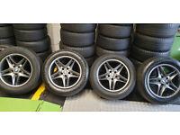 BMW Genuine X5 X6 alloy wheels 18 + 4 x tyres 255 55 18