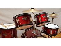 Mirage 5 Piece Junior Drum Kit