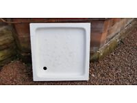 Shower base. Brand new ever used. 790mm x 790mm