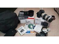 Canon 70D Camera + Lens 70-200 F4 + Lens 50 1.8 + Bag + 32GB card