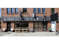 Doppio Coffee Warehouse is currently Recruiting a superstar Barista