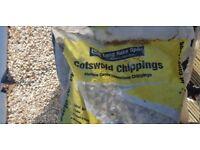 Mellow Cream Limestone Chippings