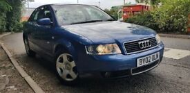 Audi A4 £1200 with complete service history one owner from new. 07903496697