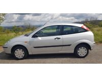 2005 Ford Focus 1.4 CL 3dr hatch 64,000 miles Petrol mot cheap insurance and tax