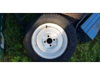 Caravan/ Trailer wheel and tyre 145/80/13 R13