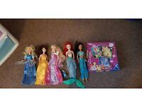 Disney dolls & puzzles