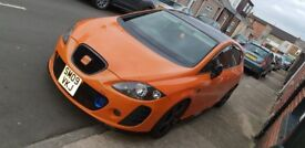 Seat Leon fr tdi Leon orange