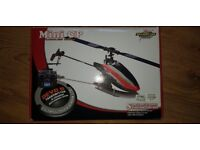 Walkera Mini CP 6 channel Remote Control RC Helicopter Devo 7E Controlled with spares and extras