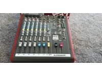 Allen and Heath ZED60-10FX Analog Mixer With USB
