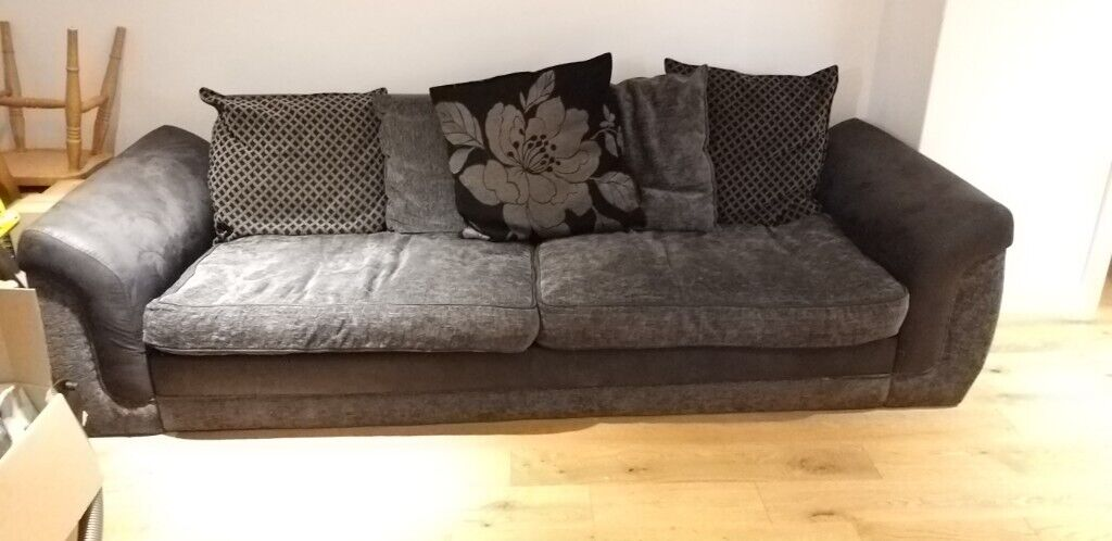 Beautiful black and grey sofa good condition | in Exeter, Devon | Gumtree