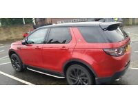 Landrover discovery sport hse luxury black pack