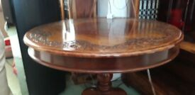 Decorative solid coffee wood table