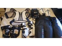 Ice hockey adult large full kit