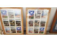 Photo frames fits 6x4 photos (x2)