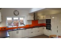 Full kitchen for sale, inc 5 ring gas hob, oven, combi oven, fridge freezer and dish washer